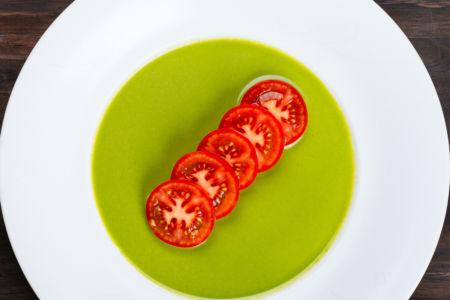 Organic Tomato with Cilantro Dressing