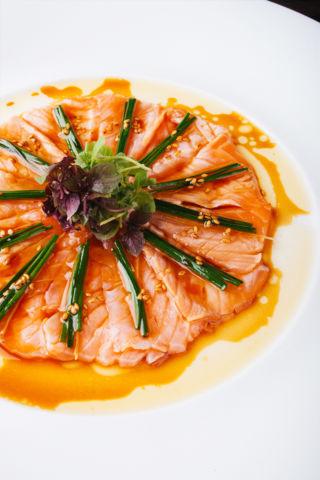 Salmon New Style Sashimi